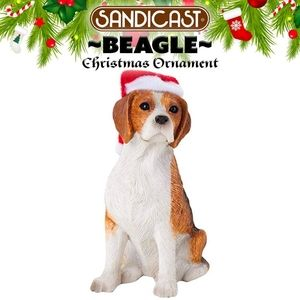 Beagle Christmas Ornament ☆Back In Stock☆